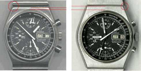 Omega Speedmaster ST176.0015 - ST176.0016 Comparision