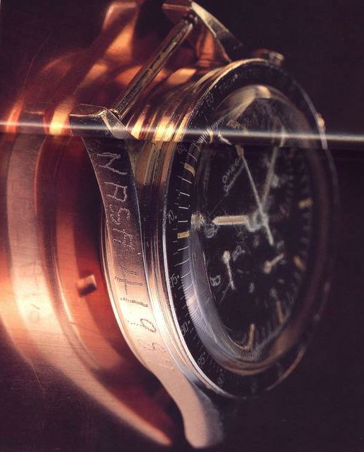 The first watch worn into  space...