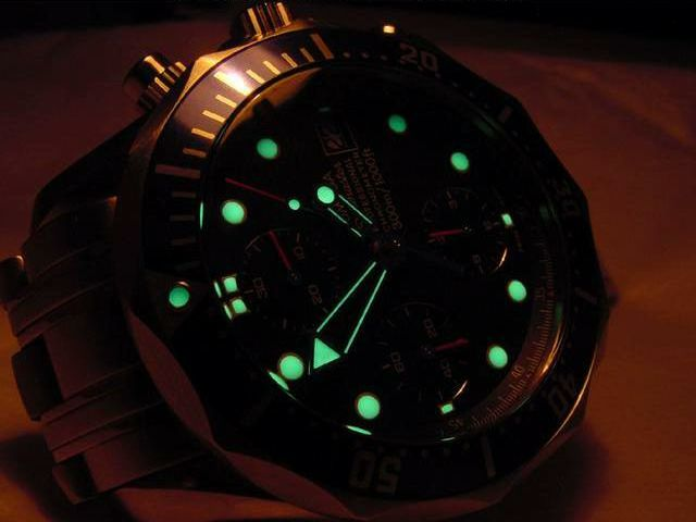 Omega Seamaster Professional Chronograph @ Night...