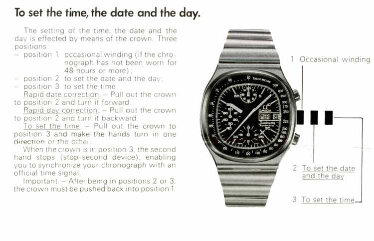 How to set the watch... Click on picture to enlarge in a new window...