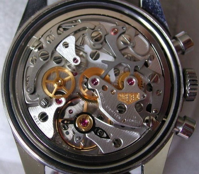 Heuer Flavor of the Lemania 1873 movement