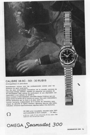 CK 2913 Seamaster 3oo ad circa 1958