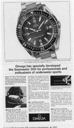 Seamaster 3oo Ad circa 1965