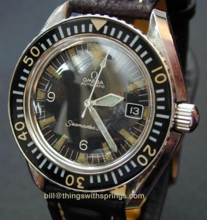 Seamaster 3oo Date w/either 563 or 565 caliber movement ST 166.024