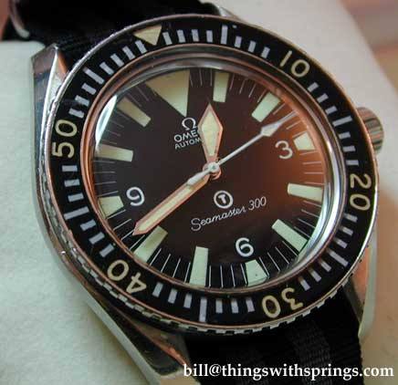 Royal Navy Seamaster 3oo Issued in 1969 ST 165.0024