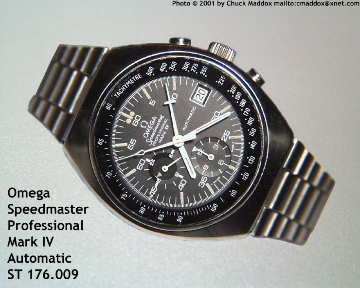 Omega Speedmaster Professional Mark IV Automatic 176.009