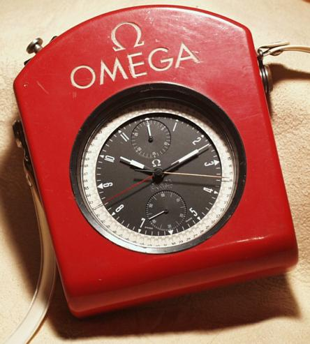Omega Olympic - Inside Closed Red Case