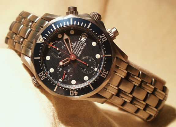 Omega Seamaster Professional Chronograph Ti/Ti