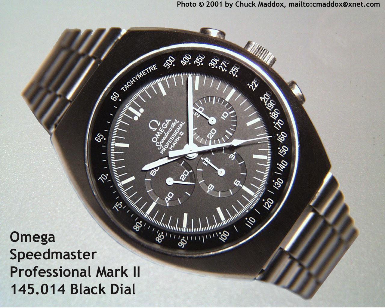 Omega Speedmaster Mark 2 Vintage